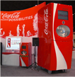 Coca-Cola Freestyle trade show booth