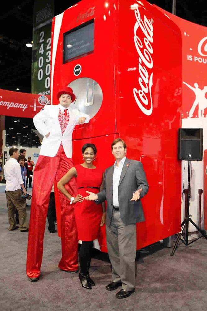 replica coke machine